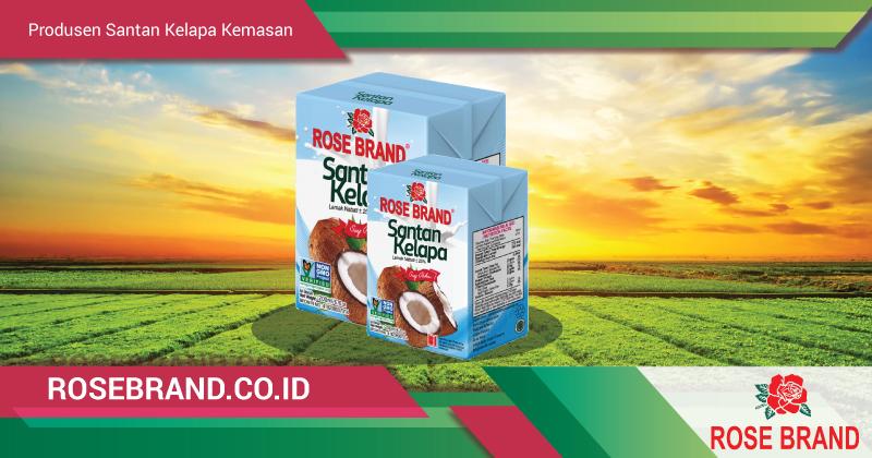 produsen santan kelapa kemasan